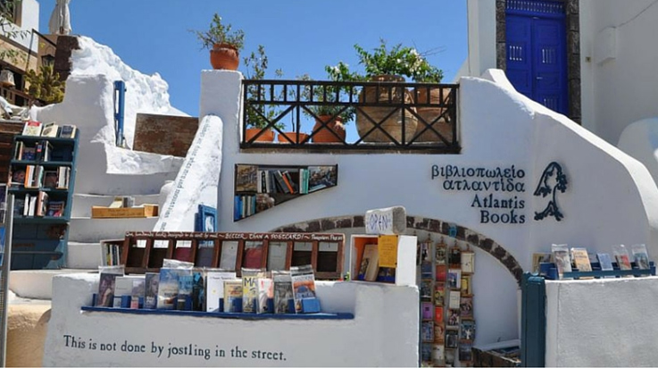 Ainutlaatuiset kirjakaupat